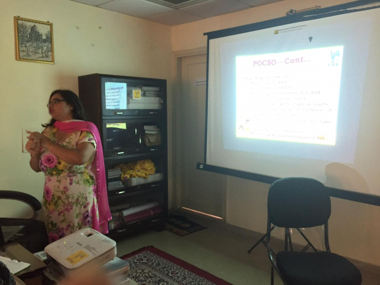 POCSO Act Workshop'19